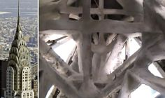Here's What the Inside of the Spire of the Chrysler Building Looks Like