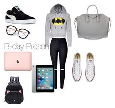 """""""B-day Present"""" by lildae on Polyvore featuring Puma, Givenchy and Converse"""