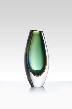 Vicke Lindstrand - Art glass vase for Kosta, Sweden.