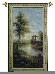 Ancient Ruins Wall Tapestry