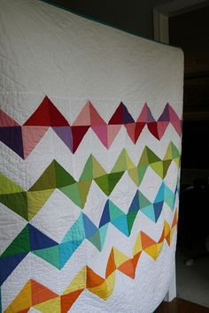 Thought I was done with zig zags.  Now I'm thinking of making that rainbow one I was planning after all.