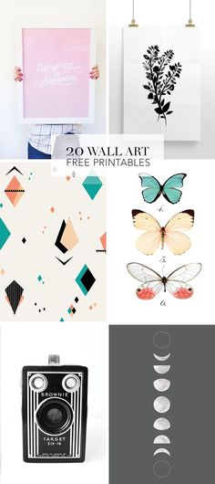 20 lovely Free wall
