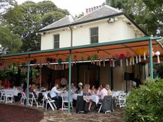 Lion Gate Lodge.   Botantic Garden Sydney