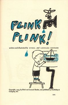 Plink Plink! Celebrate World Water Day with Vintage Children's Illustrations circa 1954 | Brain Pickings