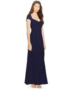 Lauren Ralph Lauren Sleeveless Sequined Dress - Dresses - Women - Macy's