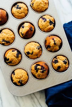 These healthy blueberry muffins are delicious! They\'re made with 100% whole grains and naturally sweetened, too. #blueberrymuffins #healthyblueberrymuffins #naturallysweetened #wholewheat #muffinrecipe Sugar Donut, Donuts, High Blood Pressure, Heart Disease, Cancer, Diabetes, Muffins, Healthy Eating, Healthy Recipes