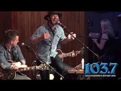"""Drake White performs """"Makin' Me Look Good Again"""" at Coyote Joe's in Charlotte. Filmed during the after concert of The New 103.7 Celebrity Golf Classic."""