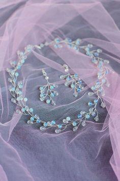 Wedding Earrings and Necklace / Колье и серьги для невесты - колье, колье ручной работы, колье с камнями, ожерелье