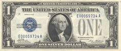 Silver certificates ~ I have a few of these still. Great collectors Item. LD