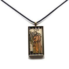 The Hermit   $59.99   www.studiokittie.com #Tarot #TarotCard #Jewelry