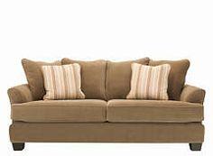 kathy ireland Home Ryann Microfiber Sofa