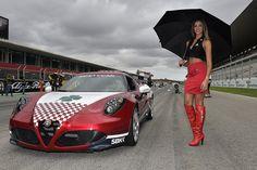 Alfa Romeo and Superbike in Portimao