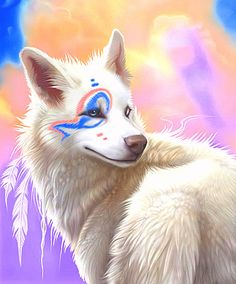 Spiritfeather she is the healer.  she is beautiful attractive and very kind mate is Thunder expecting pups and her apperntice is Silvia
