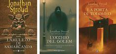 La trilogia di Bartimeus di Jonathan Stroud My Books, Reading, My Love, Word Reading, Reading Books, Libros