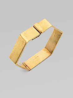 Hexagon Bangle Bracelet by Stella McCartney #Jewelry #Bracelet #Stella_McCartney