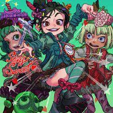 Resultado de imagen de de vanellope x anime