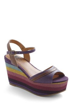 Dog Park Pretty Wedge, #ModCloth