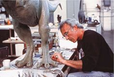 """(Jurassic Park)  """"behind the scenes"""""""
