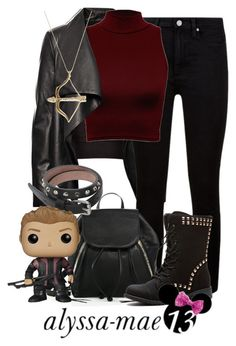 Hawkeye // DisneyBound // The Avengers by alyssa-mae13 on Polyvore featuring polyvore fashion style WearAll HIDE Paige Denim Rebecca Minkoff Alexander McQueen Sydney Evan clothing disney disneybound Hawkeye theavengers