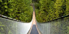 The Capilano Suspension Bridge is a simple suspension bridge crossing the Capilano River in the District of North Vancouver, British Columbia