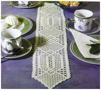 this page has many crochet centerpiece/table runners_with charts Filet Crochet, Crochet Bowl, Thread Crochet, Crochet Doilies, Knit Crochet, Bride Crochet, Motif Hexagonal, Oval Tablecloth, Crochet Table Runner