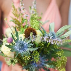"Want to know more about current wedding floral trends? We get the ""dirt"" from floral designer Sarah Worden. Photo: John Kane"