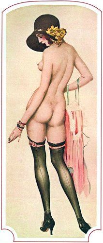 'Helen Henderson' - c. 1926 - by Alberto Vargas (Peruvian, 1896-1982) - @~ Mlle