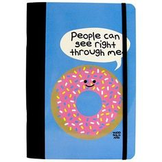 Stupid Factory David And Goliath | David and Goliath Stupid Factory A5 Donut Notebook | Free UK Delivery ...