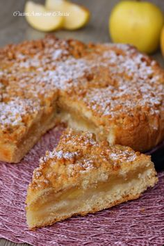 Dessert Cake Recipes, Köstliche Desserts, Pie Dessert, Delicious Desserts, Yummy Food, Cakes To Make, How To Make Cake, Apple Recipes, Sweet Recipes
