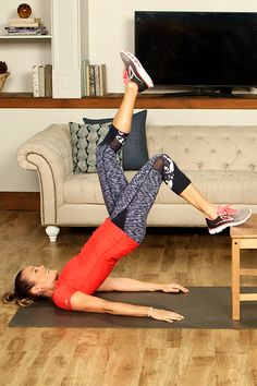 Watch now to learn 10 killer moves that turn an average chair into the perfect home gym.