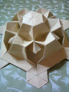 Mini Tessellation - folded by me.