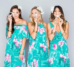 Love this pattern, may be a little much if all the bridesmaids were in it..