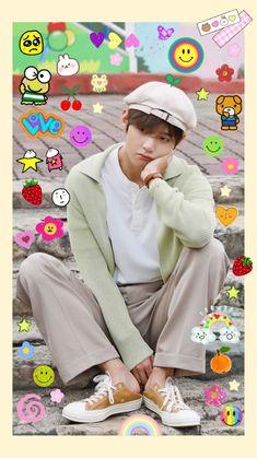 V Taehyung, Bts Bangtan Boy, Bts Jimin, Foto Bts, Gfriend And Bts, 17 Kpop, Bts Polaroid, Polaroids, Mode Kawaii