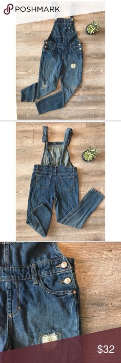 ed6934d2c6 Jordache Jean Overalls Adorable Jordache jean overalls! In great condition!  100% cotton.