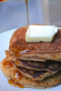 Primal Gingerbread Pancakes  #CupcakesOMG
