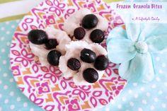 frozen granola dessert bites