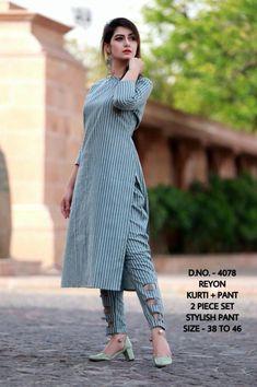 Silk Kurti Designs, Simple Kurta Designs, Salwar Designs, Kurta Designs Women, Kurti Designs Party Wear, Stylish Dress Designs, Stylish Dresses, Stylish Kurtis Design, Look Fashion