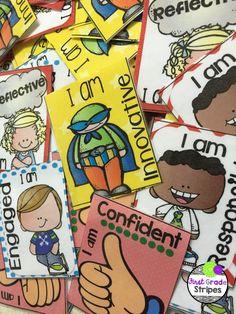 Brag/Swag Tags for Cambridge students. Includes all Cambridge learner attributes. Super cute!