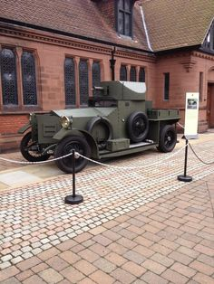 Armoured Rolls Royce Silver Ghost