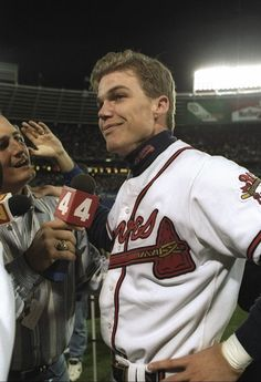 Chipper Jones, Atlanta Braves, 1995 World Series