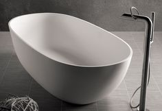 Dado Dubai Freestanding Bath with Aqualine Freestanding Bath Mixer