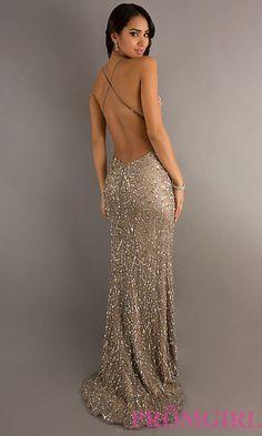 Long Prom Dress Style: Scala-47521 Back Image