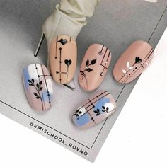 - The most beautiful nail designs Coffin Nails Glitter, Best Acrylic Nails, Stiletto Nails, Line Nail Art, Gel Nail Art, Diy Nails, Swag Nails, Spring Nails, Summer Nails