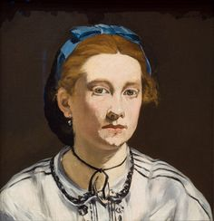 Édouard Manet (1832-1883), Portrait of Victorine Meurent (c.1862), oil on canvas,