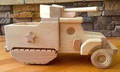 Handmade Toys, Handmade Wooden, Monster Truck Toys, Wooden Toy Trucks, Blue Jeep, Wood Toys, Christmas Morning, Wood Colors, Woodworking Shop