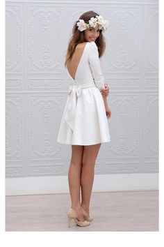 Une robe baby doll