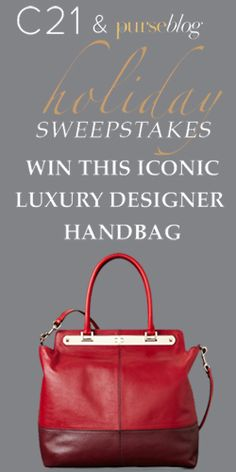 #RePin and Enter to #Win a #Valentino #Handbag this Holiday Season! #fashion #accessory #sweeps VALID UNTIL DEC 1