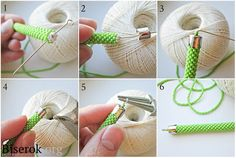 How to attach ends to bead crochet rope Seed Bead Bracelets Tutorials, Beaded Bracelets Tutorial, Beading Tutorials, Bead Crochet Patterns, Bead Crochet Rope, Beading Patterns, Crochet Beaded Bracelets, Beaded Earrings Patterns, Diy Schmuck