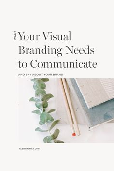What your Visual Branding needs to say about your Brand Identity Design, Visual Identity, Brand Identity, Create A Brand Logo, Creating A Brand, Branding Workshop, Find Fonts, Creative Business, Business Tips