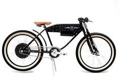 """Harley-Davidson guarda al futuro con il prototipo di moto a batteria """"Project LiveWire"""", ma i modelli storici del marchio di Milwaukee ispirano oggi il design di e-bike dallo stile vintage...."""